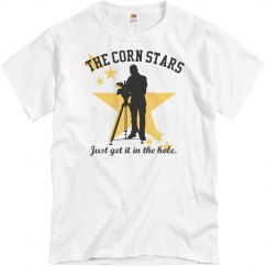 Corn Stars Cornhole Team Shirts