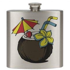 Malibu/Coconut Flask