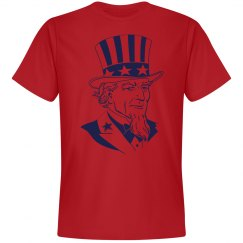 Uncle Sam Graphic Tee