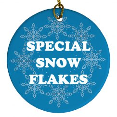 Look Out For Special Snowflakes
