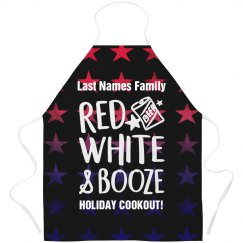 Red White And Booze Holiday Cookout