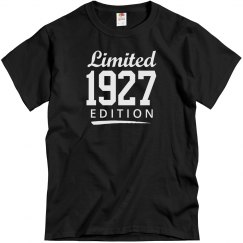 Limited 1927 edition
