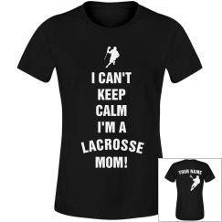Keep Calm Lacrosse Mom