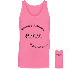 CTT's Birthday Behavior Tee