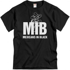 Mexicans In Black