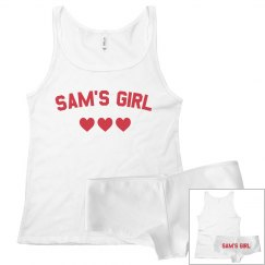 Custom Name's Girl V-Day Set