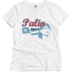 Palin 2016 Flag & Face