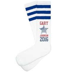 Gary Johnson 2016 Socks