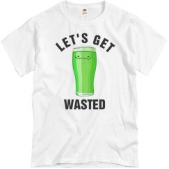 Wasted on St Patricks Day