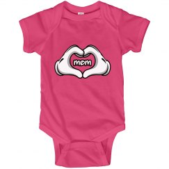 Mom Love Onesie