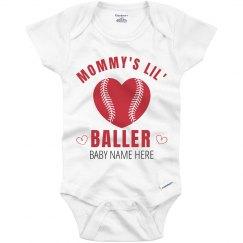 Mommy's Lil' Valentine Baller