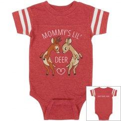 Mommy's Little Dear Onsie