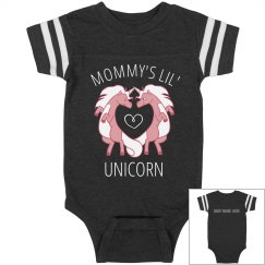 Mommy's Lil' Custom Unicorn Onesie