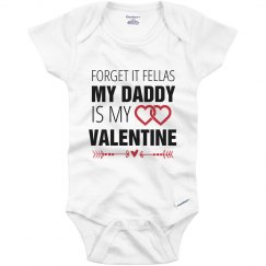 Daddy Is My Valentine's Outfit