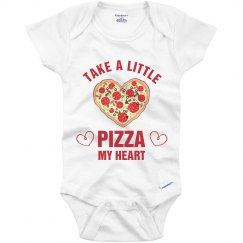 A Little Pizza My Heart Onesie