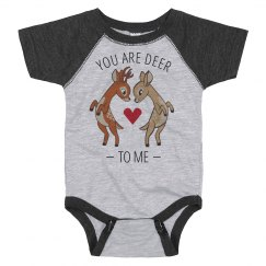 Deer To Me Valentine's Bodysuit