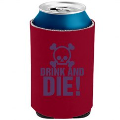 Drink And Die Skull