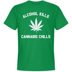 Alcohol Kills Cannabis Chills