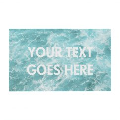 Custom Text Oceanic Design