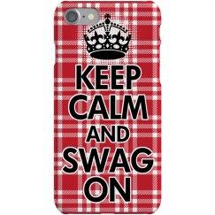 Keep Calm Swag On Case