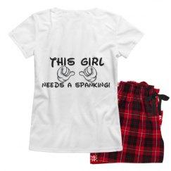 Ladies Pajama Set