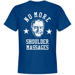 No More Shoulder Massages from Joe Biden