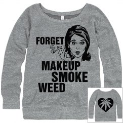 Funny Retro Woman Weed