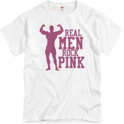 Real Men Rock Pink