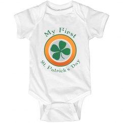 First St. Patricks Onesie