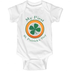 First St. Patricks Onesie