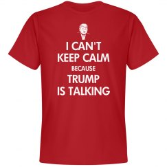 Trump is talking shirt