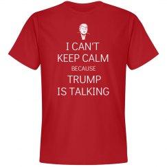 Trump is talking shirt