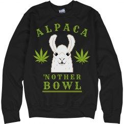 Alpaca'nother Bowl Llama Green