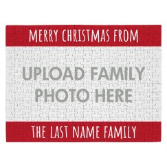 Create A Family Holiday Puzzle