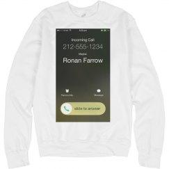 Ronan Farrow is Calling: A Halloween Scare