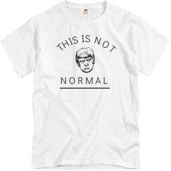 Trump Is Not Normal
