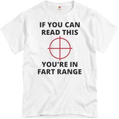 You're In Fart Range