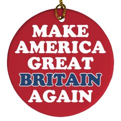 Make America Great Britain Trump