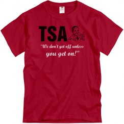 TSA Gets Off
