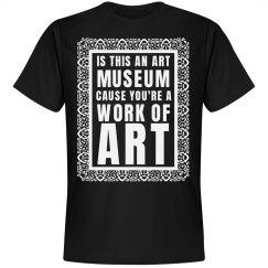 Art Museum Pick Up Lines