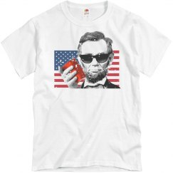 Abraham Lincoln Party T-Shirt