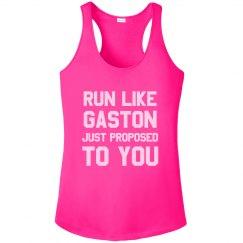 Run Away Like Gaston Is Proposing