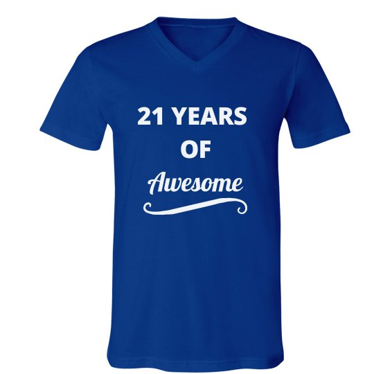 21 Years of Awesome