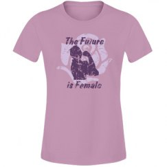The Future Is Female (junior pink/purple)