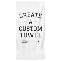 Customizable Bath Towels