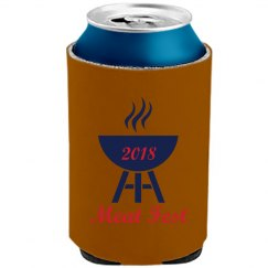 Official 2018 Meat Fest Koozie