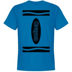 Blue Crayon Shirt Costume