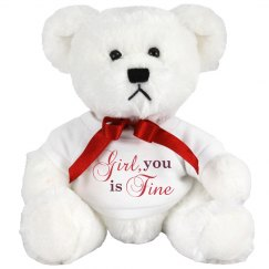 A Smooth Talking Teddy