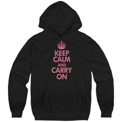 Keep Calm Black & Pink