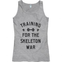 Simple Skeleton War Training